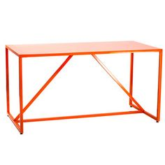 Strut Medium Table Orange, $559.20, now featured on Fab.     @Nathan Mallonee Warner i like this - not my usual taste but it's cool