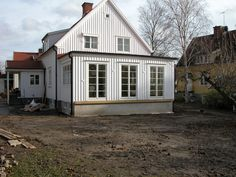 byggahus.se rekommenderar - Byggbolaget Beddinge, Swedish House, House Extensions, Scandinavian Interior, Interior Inspiration, Beautiful Homes, Living Spaces, Shed, New Homes