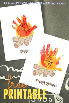 Happy Camper Handprint Campfire Keepsake Happy Camper Handprint Campfire Keepsake Happy Camper Handprint Campfire Keepsake Idea w free printable Happy Camper Handprint Campfire Keepsake Happy Camper Handprint Campfire Keepsake Idea w free printable Camping Theme Crafts, Camping Crafts For Kids, Mothers Day Crafts For Kids, Summer Crafts For Kids, Toddler Crafts, Preschool Camping Theme, Campfire Crafts, Kids Camp, Spring Crafts
