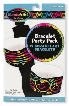 Scratch Art® Classroom Packs - Scratch Art® Party Pack - Bracelets