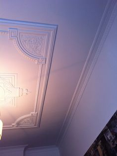 Art deco ceiling/cornice