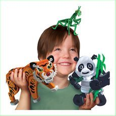 Bloco Tiger and Panda - Green Ant Toys Online Toy Store Bloco Tiger and Panda NEW Toys http://www.greenanttoys.com.au/shop-online/construction-toys/bloco-construction-toys/bloco-tiger-and-panda/