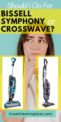 Should I Go For Bissell Symphony or Crosswave? This article will explore some of the advantages and disadvantage of each vacuum mop model just to simplify your purchasing decision. Cleaning Area Rugs, Cleaning Tile Floors, Floor Cleaning, Deep Cleaning Tips, Cleaning Hacks, Laminate Flooring Cleaner, Best Steam Cleaner, Pet Vacuum, Clean Hardwood Floors