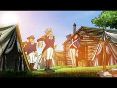 """Week 5 Liberty`s Kids Season 1 Episode 11 Part """"Washington Takes Command"""" Synopsis: Washington organizes the Continental Army; James goes with Henry Knox to retrieve cannons at Fort Ticonderoga. Modern History, Us History, Young George Washington, Social Studies For Kids, Liberty Kids, Us Independence Day, Cc Cycle 3, The Pilgrim's Progress, Continental Army"""