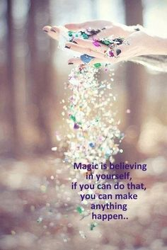 Wiccan Moonsong: Make a Little Magick - Believe in You Merry Meet :))) Such a simple quote... :))) Such an important and relevant quote. Most of you are probably nodding saying that you agree. How many of you are saying that you do that? Now think about if you really do it. When you work with magick are you 100% confident that what you are putting forth is going to work?   http://wiccanmoonsong.blogspot.com/2013/08/make-little-magick-believe-in-you.html