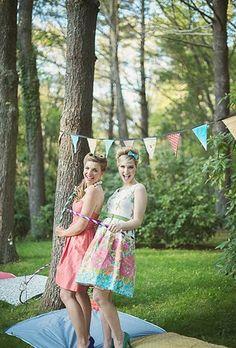 A 1950s-Inspired Styled Wedding Shoot| Retro Weddings | Real Weddings | Brides.com | Brides.com