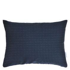 Audley Indigo Cushion