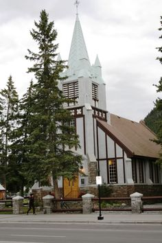 St. Paul's Presbyterian Church in Banff, Alberta