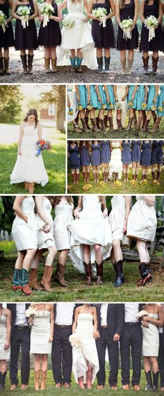 Cowboy Boot Weddings