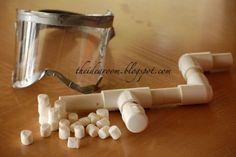 Miniature Marshmallow Gun