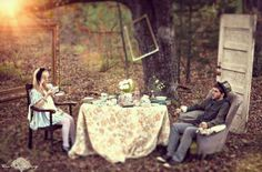 Tea party w alice