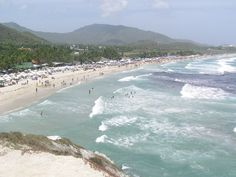 Playa Parguito, Margarita Island.  Many a happy day I've spent on this beach with my children :o)