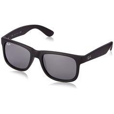 Ray-Ban RB4165 622/6G Justin Frame Grey Mirror 54mm Lens Sunglasses