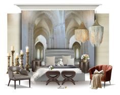 """""""Interior"""" by lenadecor ❤ liked on Polyvore featuring interior, interiors, interior design, home, home decor, interior decorating, Designers Guild, CB2, Arteriors and Threshold"""