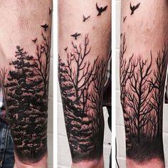 forest tattoo arm sleeves - Recherche Google