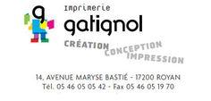 Création du site de l'imprimerie Gatignol à Royan.