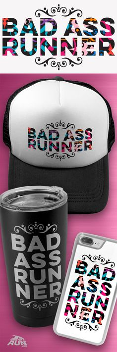 Do you know a BAD ASS RUNNER?! Shop our new gifts for tough and dedicated runners!!
