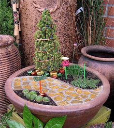 Miniature Gardening 103: The Water    Welcome back to our Miniature Garden Series of tutorials to get you started in this wonderful hobby!