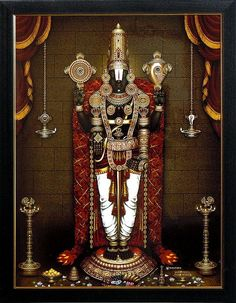 Lord Balaji on Laminated Board - x 16 inches Lord Balaji - Wall Hanging<br> Lord Balaji - Wall Hanging - Table Top and Wall Hanging Pictures (Print on Laminated Board - Framed) Lord Murugan Wallpapers, Lord Krishna Wallpapers, Lord Shiva Hd Wallpaper, Ganesh Lord, Lord Vishnu, God Pictures, Print Pictures, Lord Ganesha Paintings, Lord Balaji