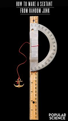 How to make a sextant from random junk Make A Boat, Build Your Own Boat, Diy Boat, Survival Tips, Survival Skills, Compass Navigation, Sailing Lessons, Sailboat Living, Plywood Boat