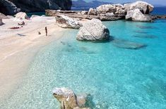 But oh the beaches ..... One of Sardinia's Many Unspoilt Beaches