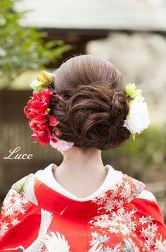 結婚式 和装 髪型