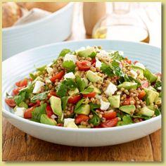 Avocado Lentilicious Salad Recipe - Avocados Australia