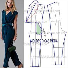 Como hacer pantalones y jumpers para dama07