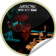 """Deadshot sets his sights on Arrow! You've unlocked """"Lone Gunman"""" sticker. Share this one proudly. It's from our friends at The CW."""
