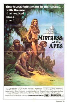 Mistress of the Apes / Movie poster / 1981 (Boris Vallejo)