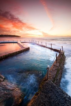 Curl Curl Beach, Sydney, New South Wales, Australia Places Around The World, Oh The Places You'll Go, Places To Travel, Places To Visit, Around The Worlds, Dream Vacations, Vacation Spots, Vacation Destinations, Beautiful World