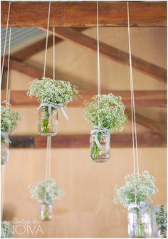 #decor #casamento #gipsofilas
