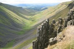High Cup Nick, North Pennines. Photo by Ann Bowker.