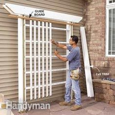 I can  make this for the butterfly garden and then make a narrower fram for the entrance into the garden.