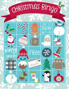 The kurtz corner free printable christmas bingo cards winter x printable christmas bingo card reheart Gallery