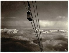 Unknown photographer, 'Zugspitze', undated, Germany/Austria #mountain #mountainphotography #vintage