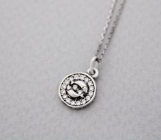 Luulla-Zizibejewelry -925 Sterling Silver Pisces, the Fishes Pendant necklace - Zodiac Sign jewelry, N0903S-$29.00