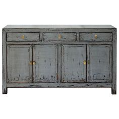 Gray Dongbei Buffet | From a unique collection of antique and modern furniture at https://www.1stdibs.com/furniture/asian-art-furniture/furniture/