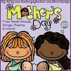 #MothersDay Literacy Fun on ThatFunReadingTea... - Playlists of Read-Aloud Stories, Songs, Poems, Videos and More!