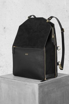 15bfc61fb3ff Shop Bo Bardi bag - Black from Minimalistic and Versatile bags for the  urban people - Bukvy in Backpacks