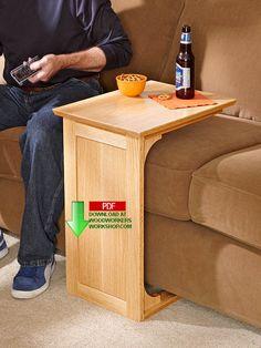 31-DP-00962 - Sofa Server Downloadable Woodworking Plan PDF