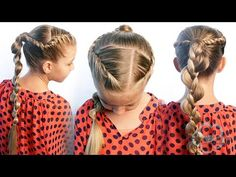 How To: French Rope Twist & Uneven Braid Combo | Pretty Hair is Fun - YouTubeBraid Hairstyles, Braids, braids tutorial, braids for short hair, braids for short hair tutorial, braids for long hair, braids for long hair tutorials...