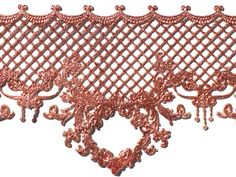 Ready made lace sample using Parisian Copper- lace design is 'Copper Penny' from the Crystal Candy mould range. Crystal Candy, Edible Diamonds, Copper Penny, Gum Paste Flowers, Candy Molds, Sugar Flowers, Lace Design, Parisian, Vivid Colors