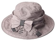 Elegant women's casual sun hat (Gray) 30th floor http://www.amazon.com/dp/B01C2W43R4/ref=cm_sw_r_pi_dp_JHL8wb0F4AWF9