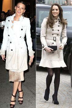 The Timeless Trench - The Duchess Katherine Middleton