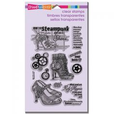 Stampendous Steampunk Shoes set