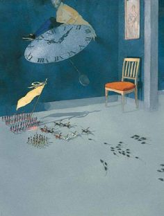 «Wonderment» Illustrator Lisbeth Zwerger. Year of publication 2014 Publisher NorthSouth