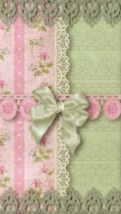 Bow with pattern
