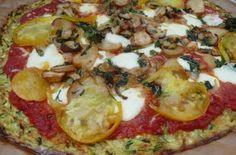 Zucchini Crust Pizza | Inspired Dreamer