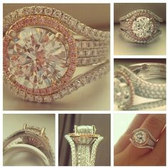 There is SO much to #love about this @Simon G.  #engagement #ring!